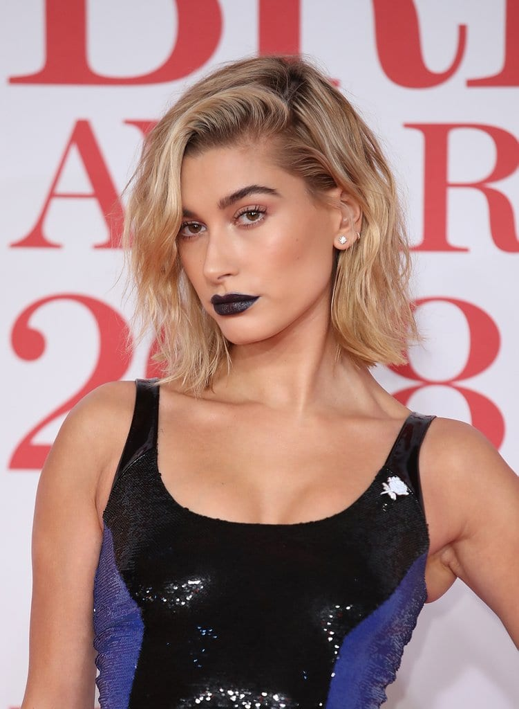 Hailey Baldwin Brit Awards 2018