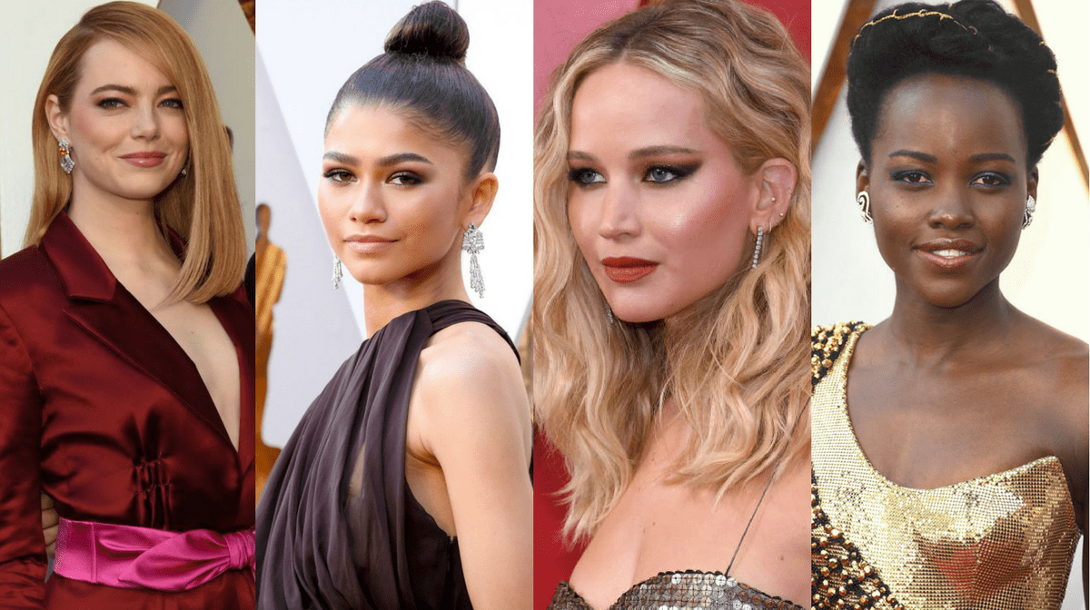 The Best Beauty Looks on the Oscars 2018 Red Carpet