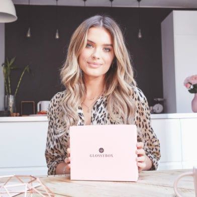 Chloe Lloyd: The Face of GLOSSYBOX Lifestyle Campaign