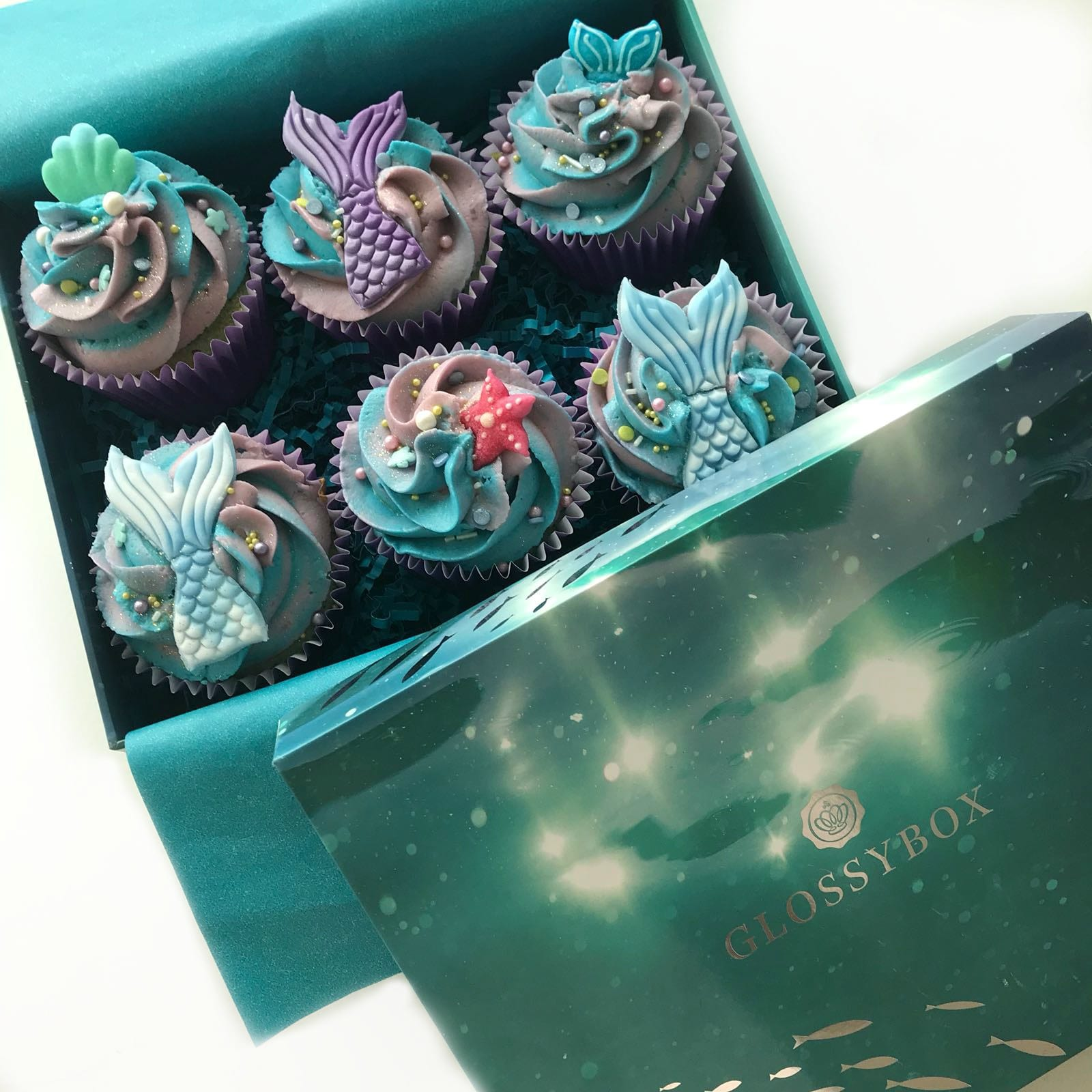 Easy Mermaid Cupcake Tutorial In 5 Steps