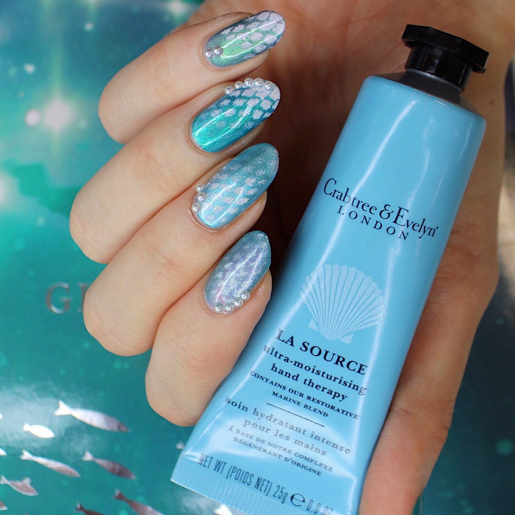Under The Sea Nails: a complete manicure
