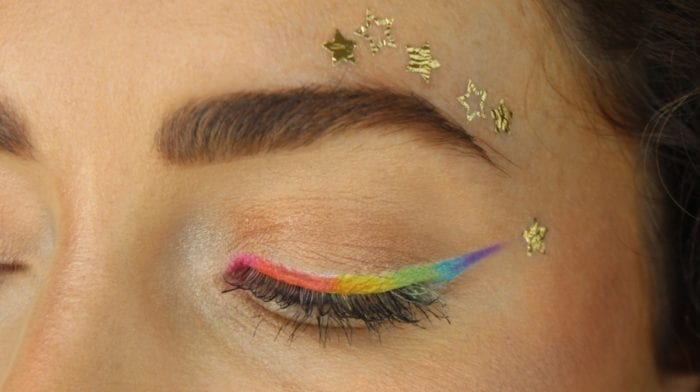 How To: Pride Eye Makeup Look