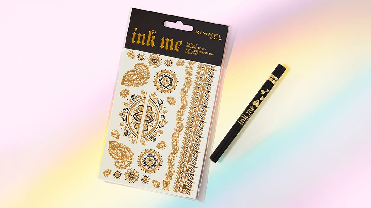 The Best Temporary Tattoos: Rimmel Ink Me Range
