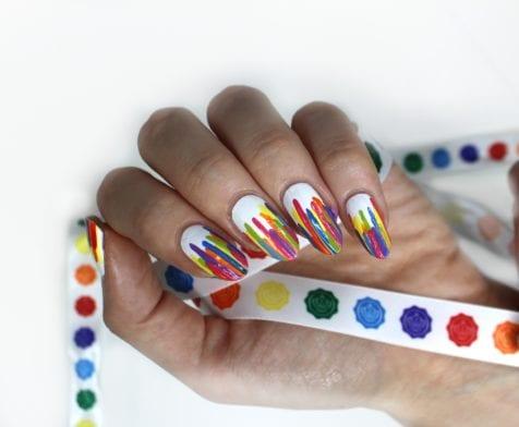 Easy Pride Nail Tutorial In 3 Steps