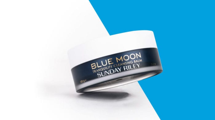 Sunday Riley: Blue Moon Tranquility Cleansing Balm