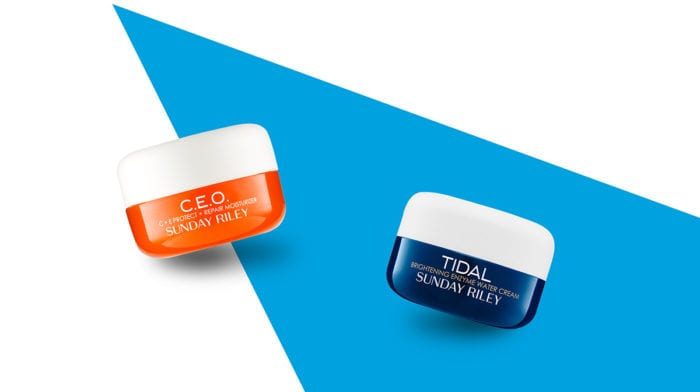 Sunday Riley Final Sneak Peek: C.E.O. Moisturiser And Tidal Moisturiser