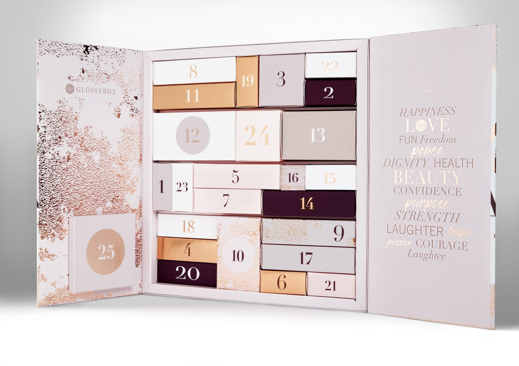GLOSSYBOX Advent Calendar 2018 Open
