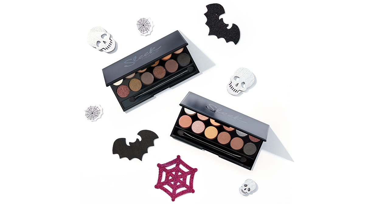 Sleek i-Divine Palettes: Trick or Treat Eyeshadow Looks