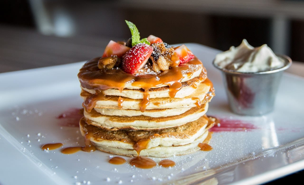 pumpkin pancakes beauty recipes