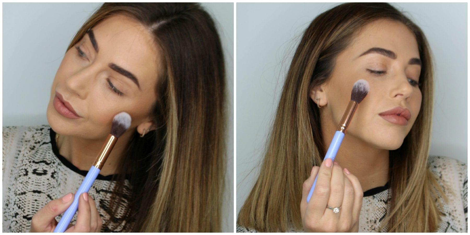 Highlighter makeup brush GLOSSYBOX