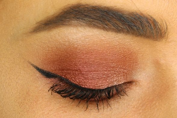 Warm Eyeshadow Video Tutorial For Autumn