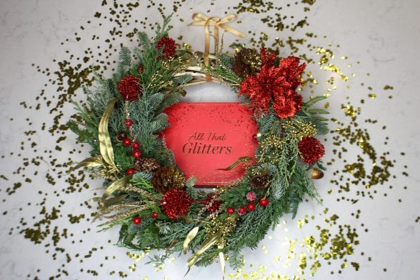 How To Make A Christmas Wreath With GLOSSYBOX