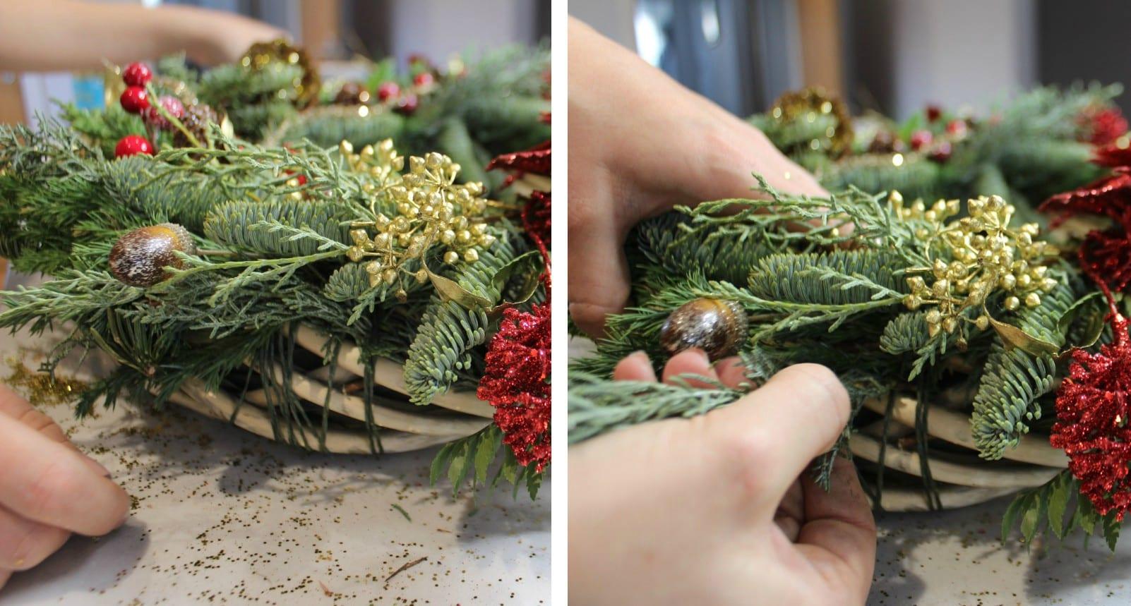 Make A Christmas Wreath GLOSSYBOX