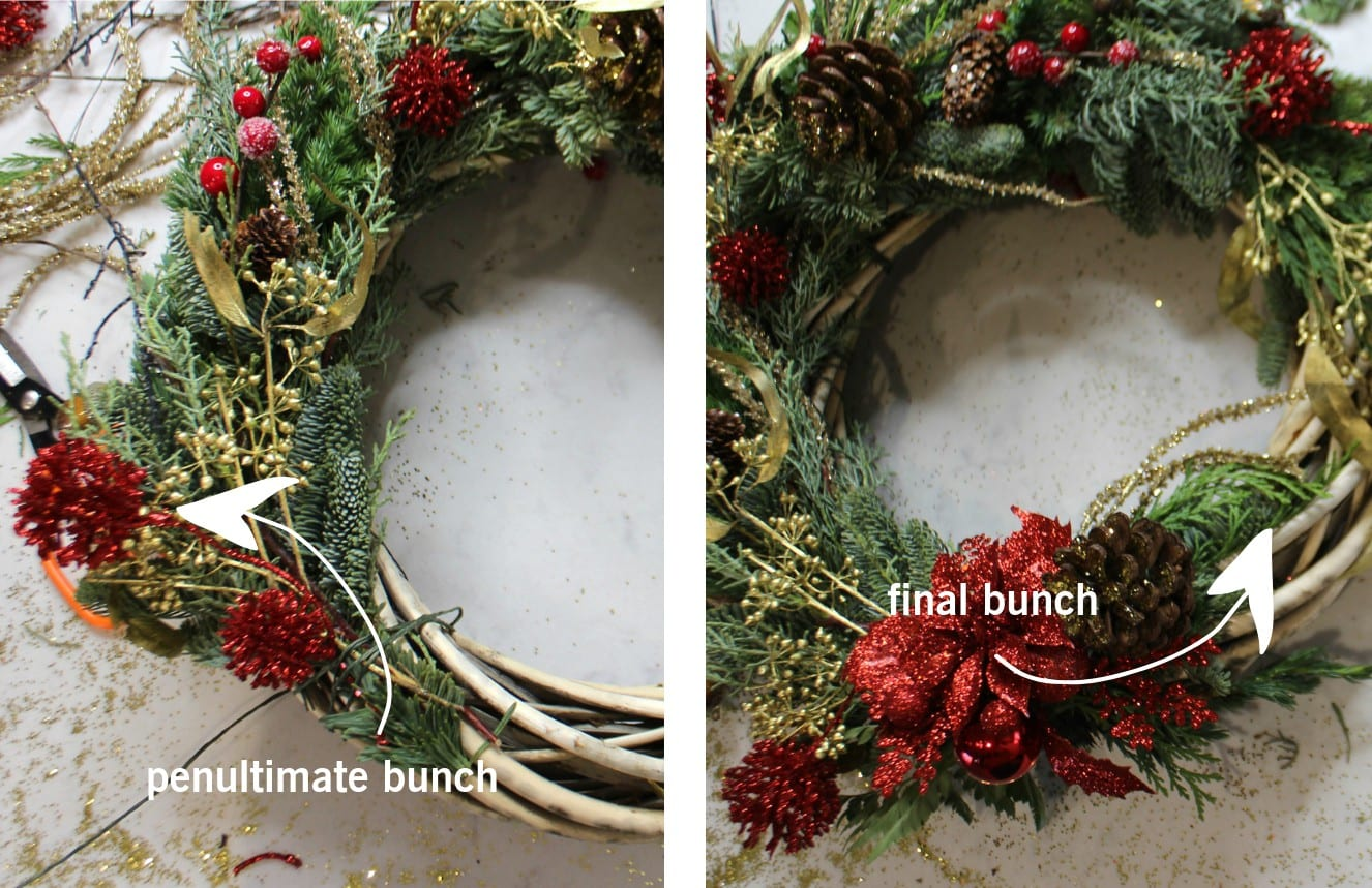 GLOSSYBOX How to make a Christmas Wreath