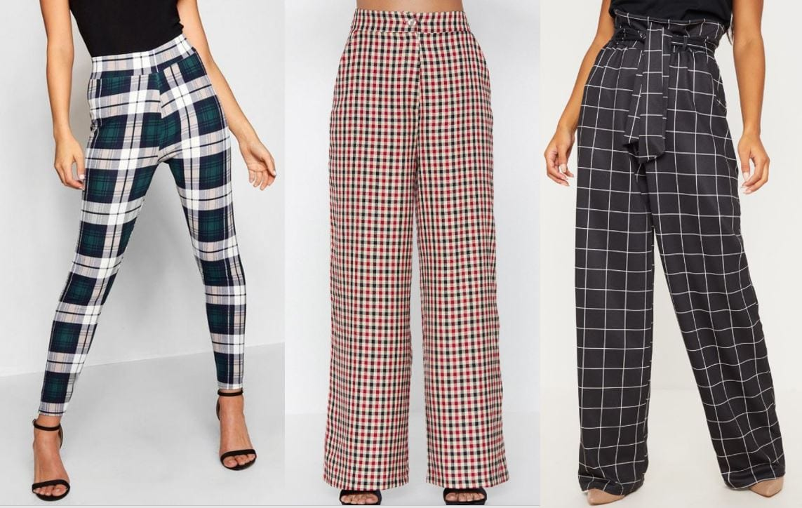 tartan clothes GLOSSYBOX