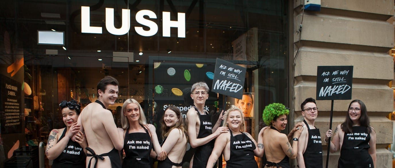 Plastic Packaging-Free Naked Lush Store Opens In Manchester