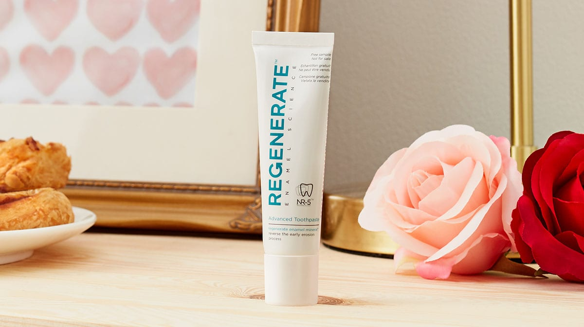 Achieve The Perfect Smile With REGENERATE Toothpaste