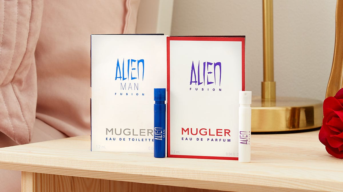 Discover Mugler's New His and Hers Alien Fusion Fragrances