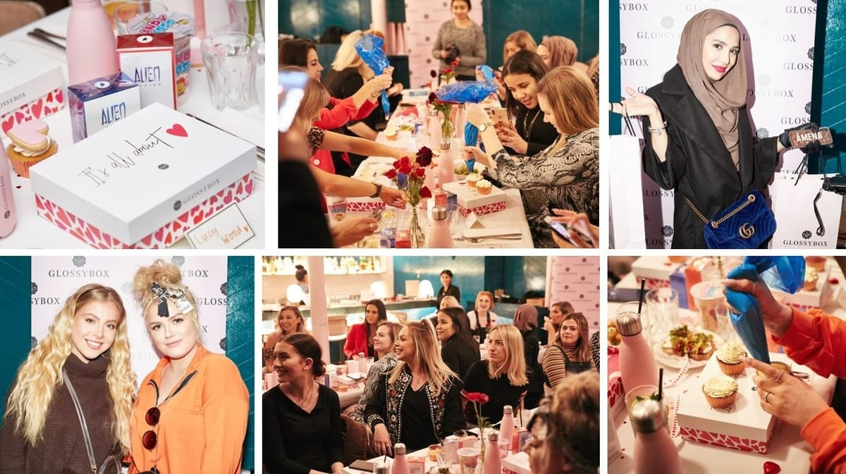 GLOSSYBOX's Valentine's Event At Clerkenwell Grind