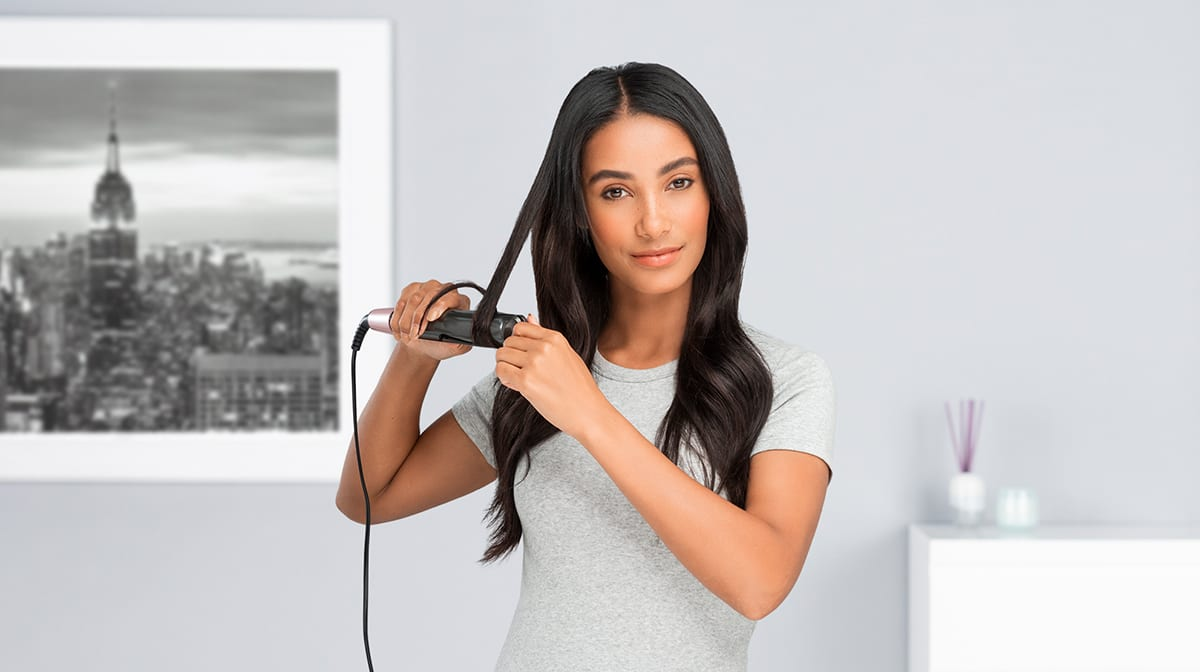 Meet Remington's New 2-In-1 Twisted Plates Straightener