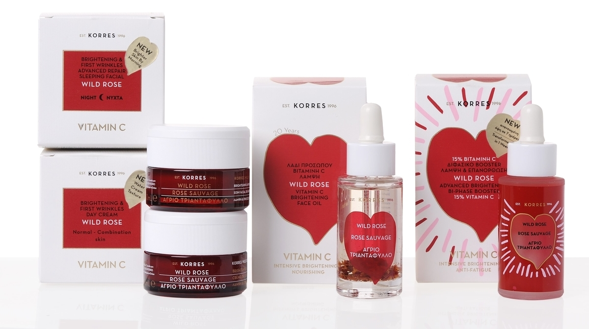 Reduce Dark Circles And Wrinkles With Korres' Wild Rose Range