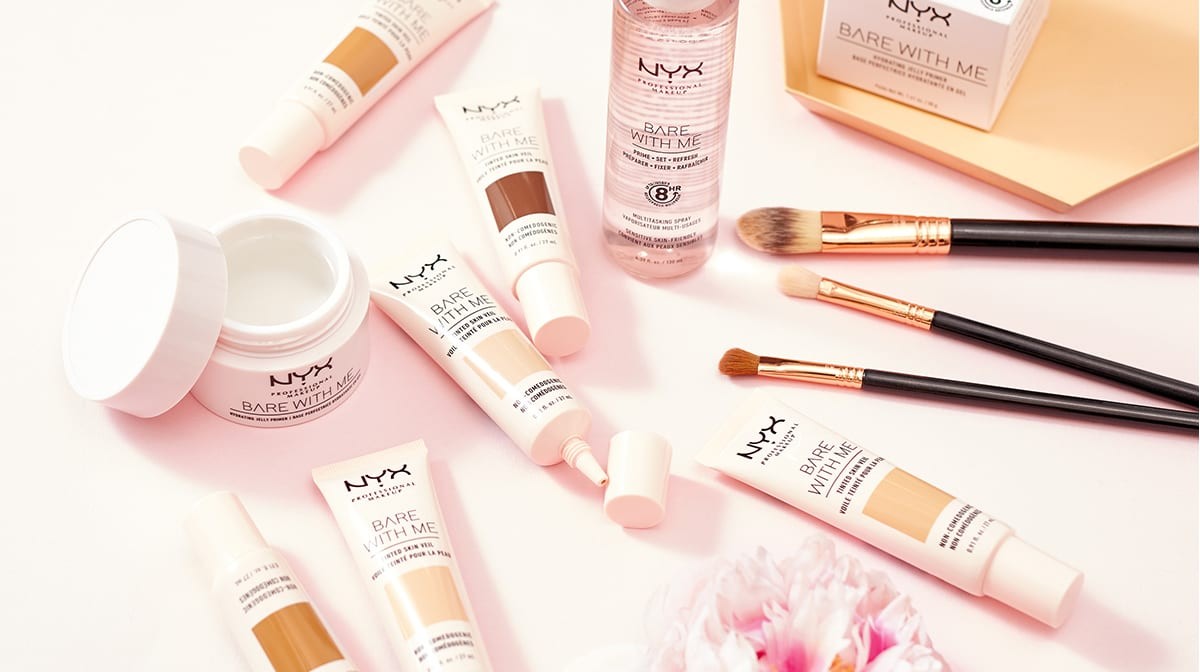 Get NYX's New Bare With Me Range With Your GLOSSYCredit