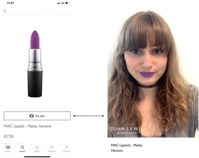 Virtual Makeup App