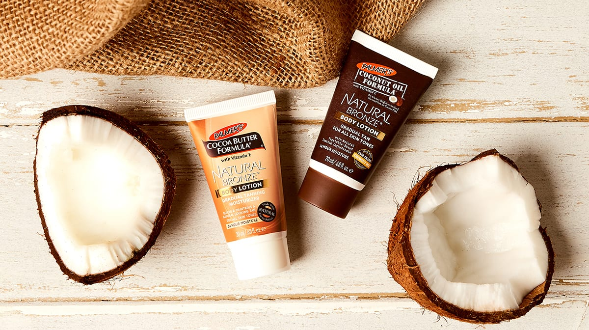 Palmer's Natural Bronze Gradual Tanning Lotion Creates A Natural Glow