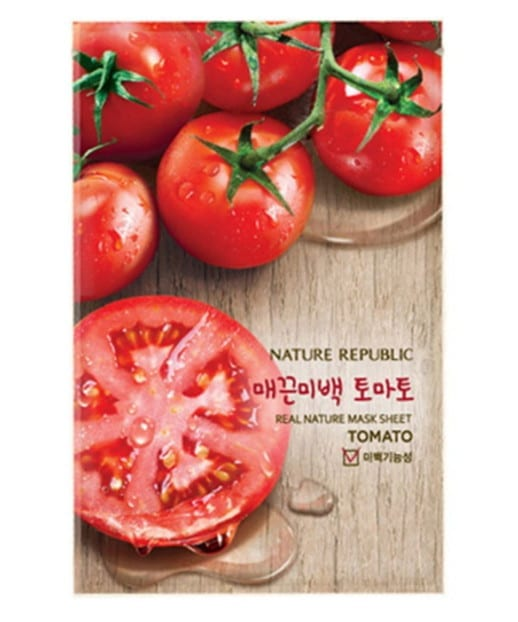 tomato-based beauty products