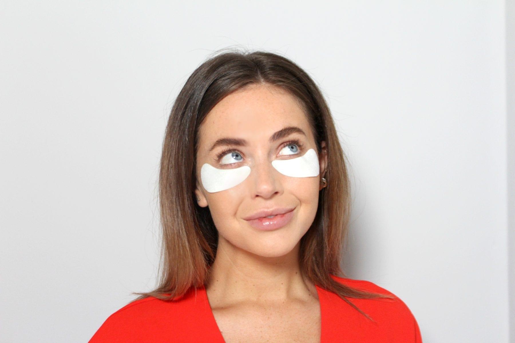Collagen eye masks