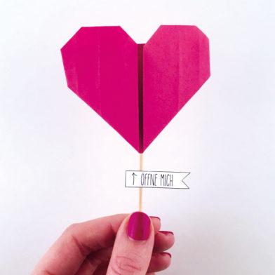 Eine Herzbotschaft für deine Liebsten!