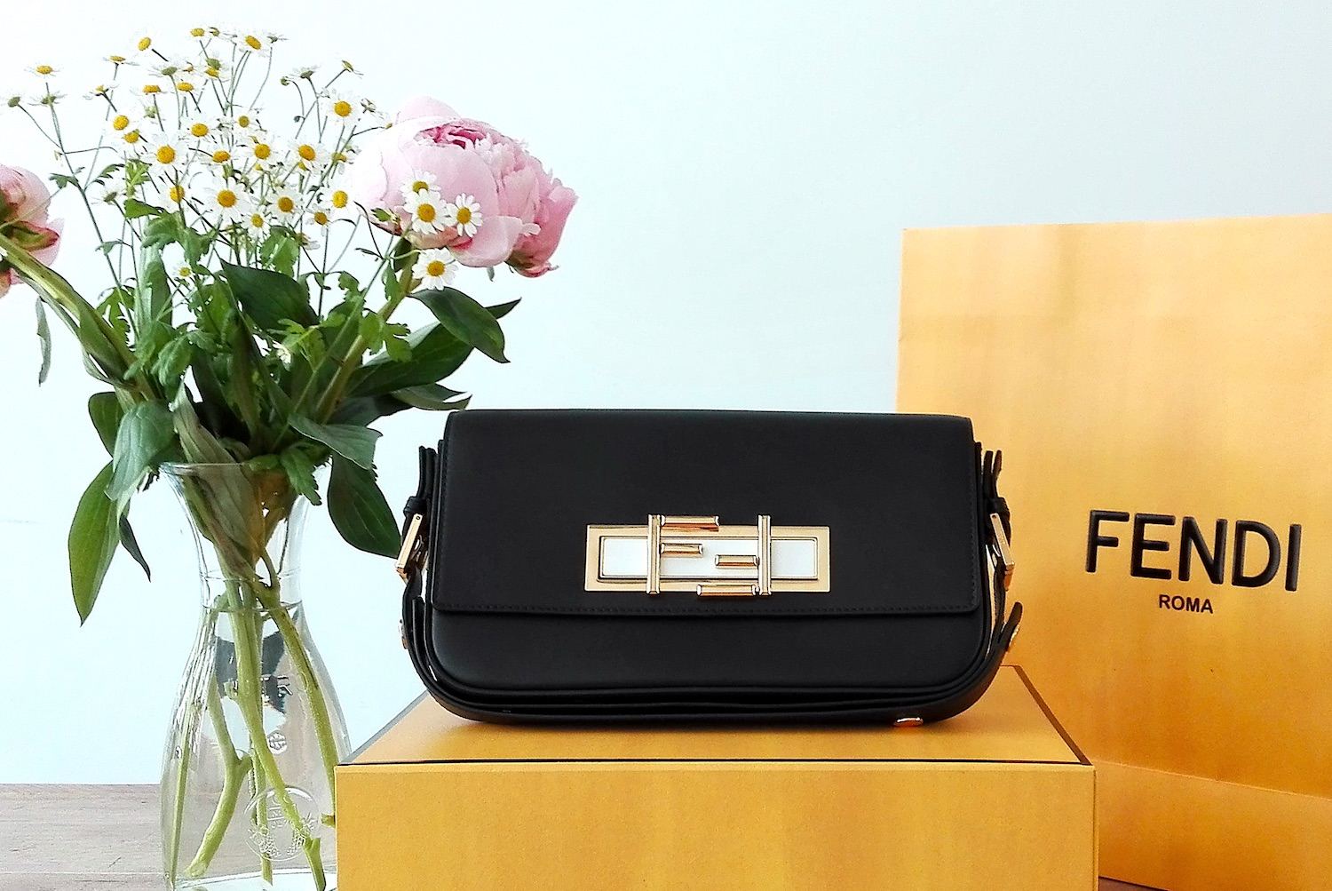 Glossybox Blogparade Mai Fendi Baguette Bag