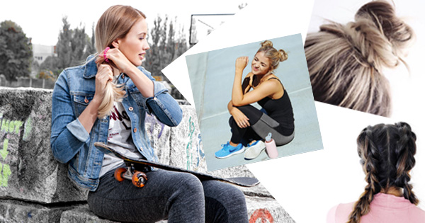 Sportfrisuren! 6 praktische Styles für dein Work-out in der City