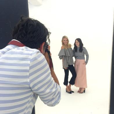 New Icons Edition: Backstage beim Shooting mit Anna, Leonie & Stefanie
