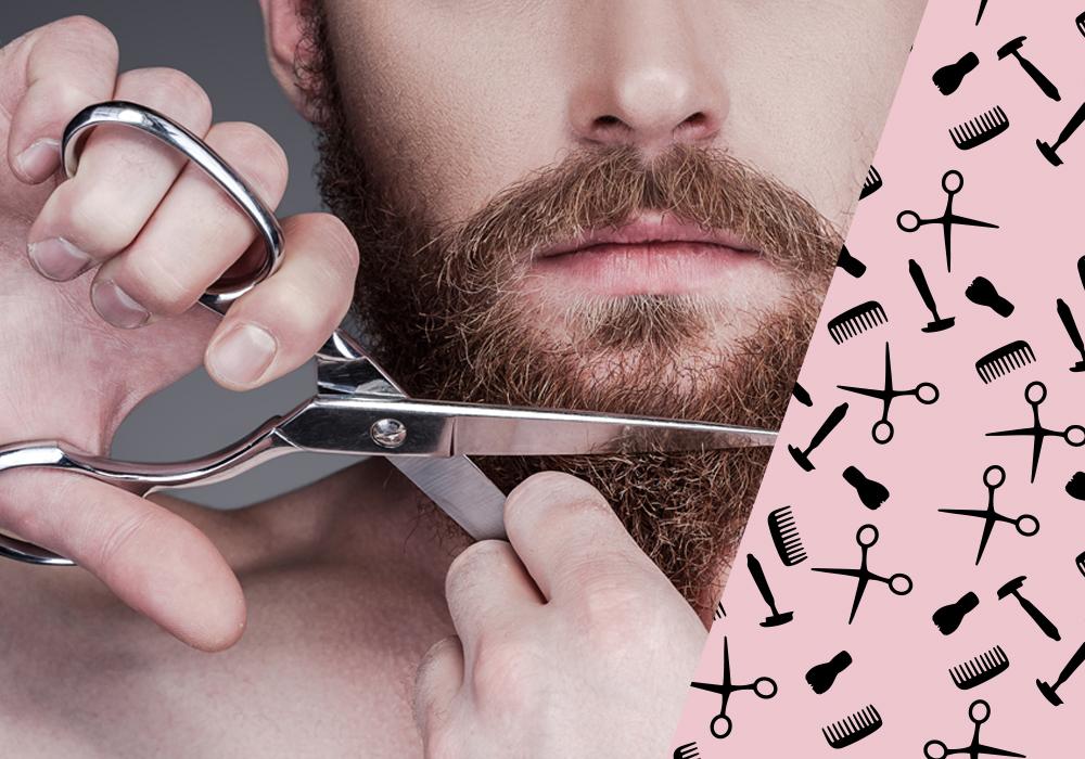 Bartpflege Schere
