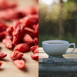 Gojibeeren-Tee! Unser köstlicher und heiß begehrter Star im Oktober