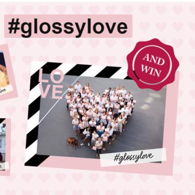 Zum Valentinstag: Rahme deine Liebe ein und gewinne mit #glossylove