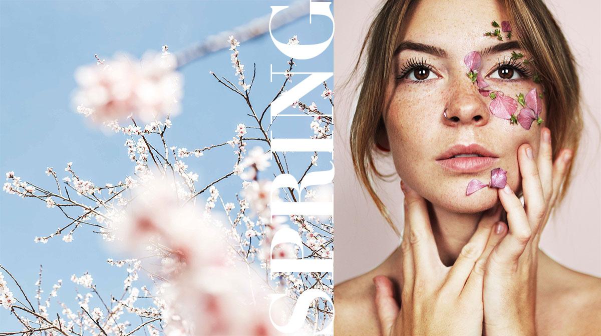 Du willst schöne Haut im Frühling? Beachte diese 4 Pflegetipps