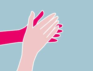 Hände richtig waschen und desinfizieren – so geht's