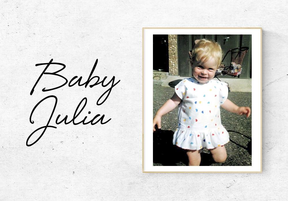 #WeTalkBeauty: Warum ich nicht mehr versuche, meine Locken zu zähmen_ Julia als Baby