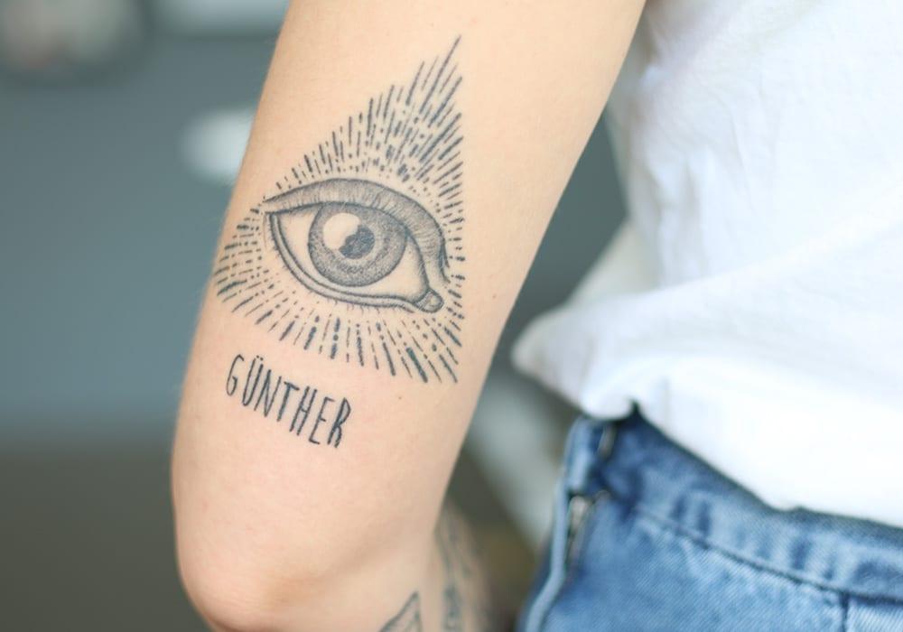 leben und leben lassen tattoo