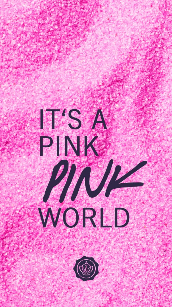 It's a Pink World – Screensaver fürs Smartphone