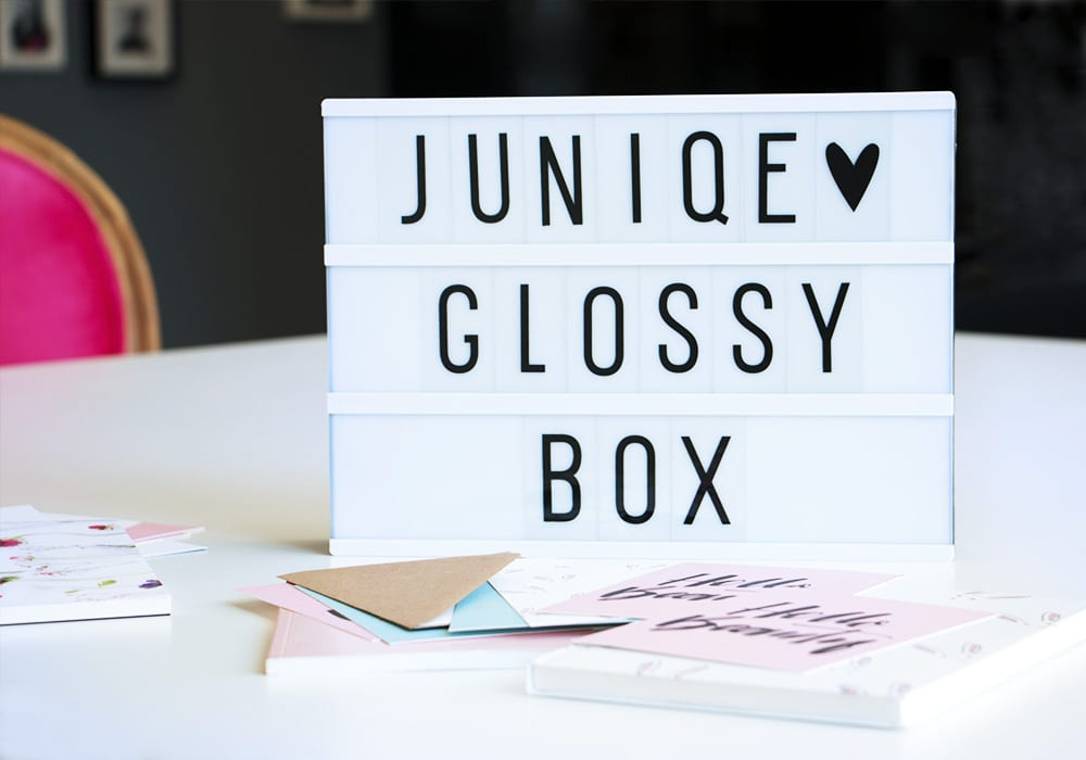 juniqe_und Glossybox