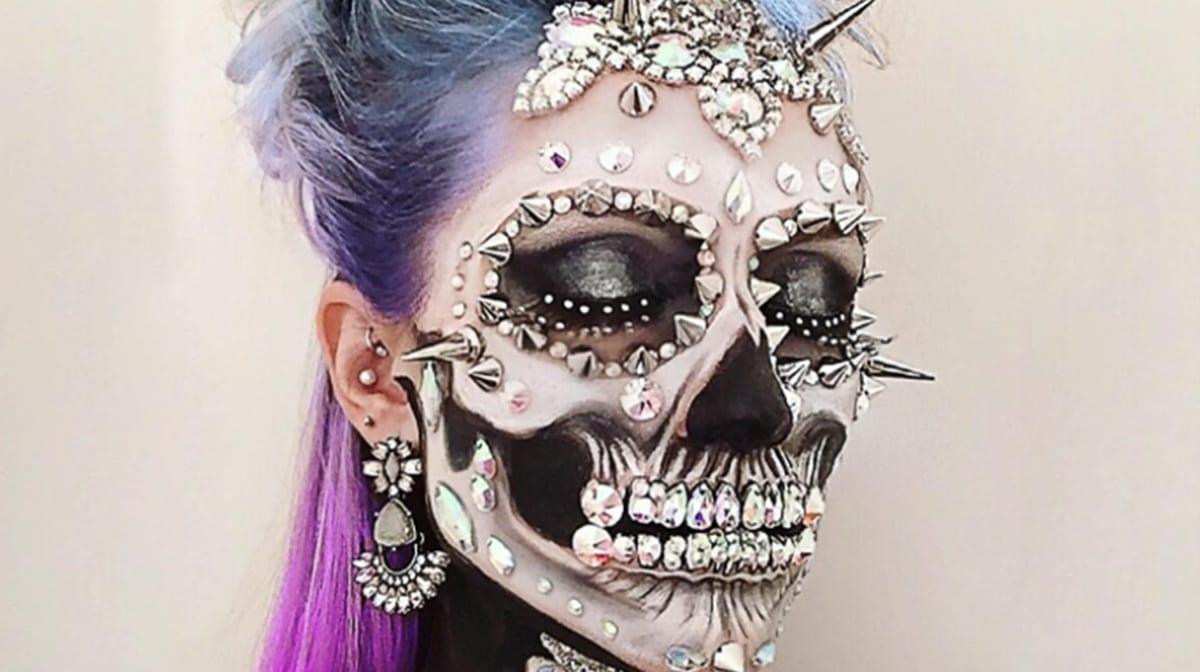 Dieses Halloween-Make-up beschert dir schöne (Alb-)Träume!