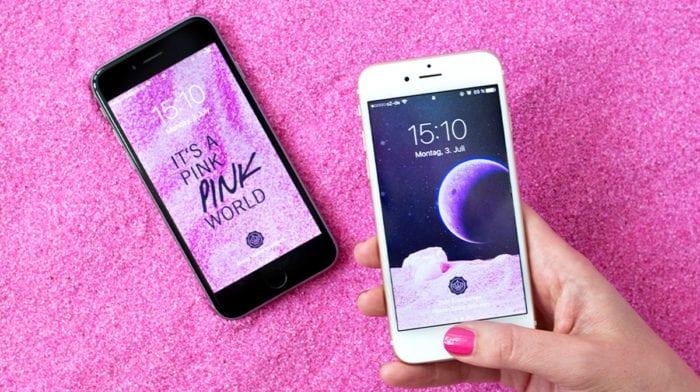 Think Pink! Deine GLOSSY Wallpaper im Juli