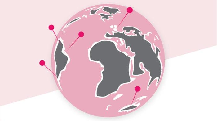 GLOSSY Places: Diese 8 Reiseziele sind niemals zu rosarot, um wahr zu sein