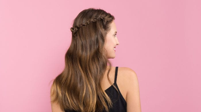 #wanderstyle! Flechte in wenigen Steps romantische Waterfall Braids