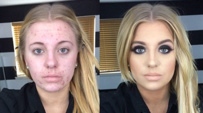 The Power of Make-up, diese 12 Make-up-Transformationen sind unglaublich!