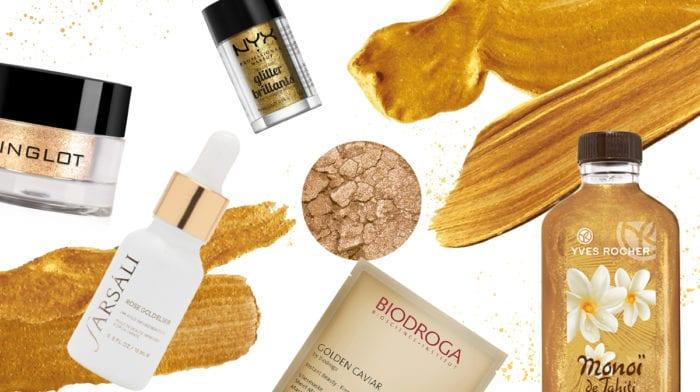 #beautyfavs: Produkte in Gold, denn in jeder von uns steckt ein Gold Digger!