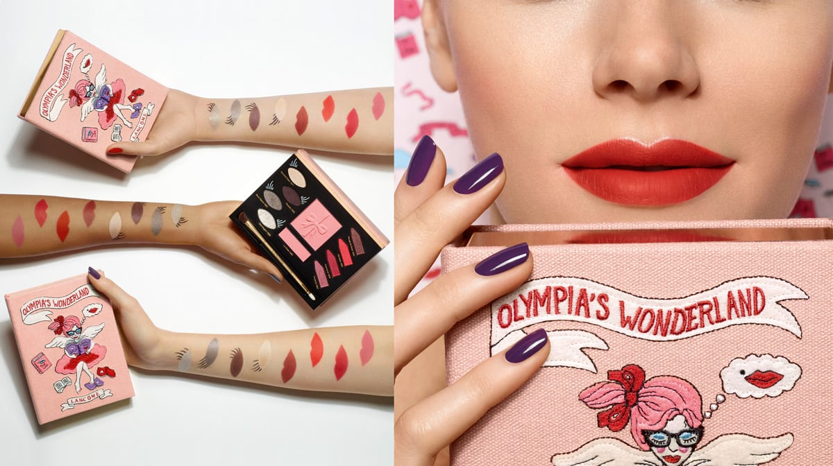 """All you want for Christmas is … die """"Lancôme x Olympia Le-Tan""""-Kollektion"""